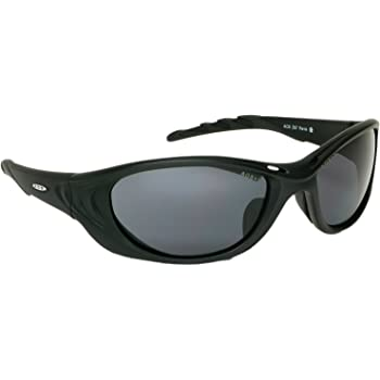 3M Fuel 2 Safety Glasses, 1 Pair, ANSI Z87, Anti-Fog Anti-Scratch Gray Lens, Black Frame, Soft Nose Bridge and Temple Tips for Comfort