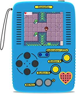 seeed studio GameGo Handheld Game Console, programmable Retro Game Console Supports Microsoft MakeCode, Both for Block Pro...