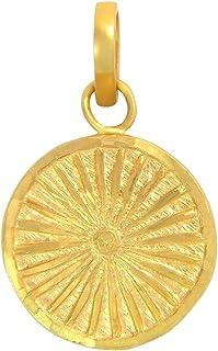 Popleys 22k (916) Yellow Gold Pendant