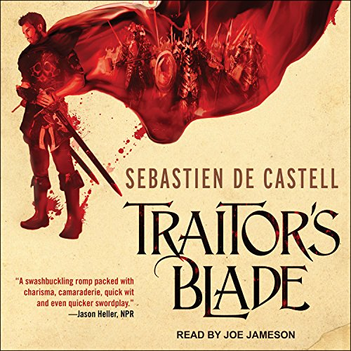 Traitor's Blade Audiobook By Sebastien de Castell cover art
