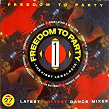 Compilation (Trax) - Freedom To Party 1 - The First Legal Rave - 12
