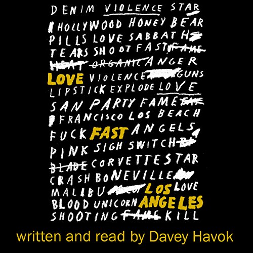 Love Fast Los Angeles audiobook cover art