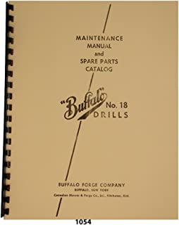 Business & Industrial Buffalo Forge No.16 Power Feed Drill Press ...