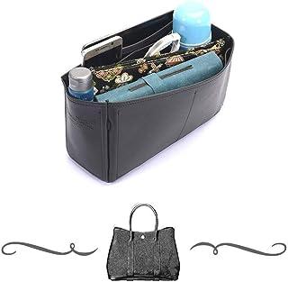 9ffbcbfc27 Garden Party 30 Deluxe Leather Handbag Organizer, Leather bag insert for  Hermes Garden Party 30
