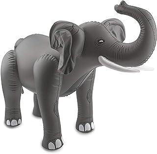Folat 20271 elefante inflable gris, talla única que se adapta a la mayoría
