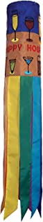 In the Breeze Cocktails Happy Hour Windsock, 40-Inch