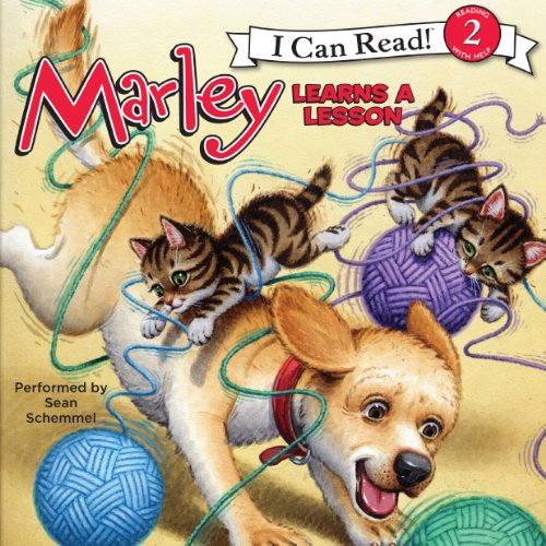 Marley: Marley Learns a Lesson  audiobook cover art