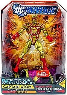 DC Universe Series 4 > Captain Atom (Gold Suit Variant) Action Figure
