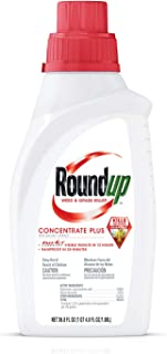 RoundUp 5100610 Weed & Grass Killer Concentrate Plus 36.8 oz, 32 OZ