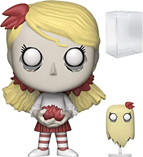 Funko Pop & Buddy Games: Don't Starve - Wendy with Abigail Vinyl Figure (Includes Pop Box Protector Case)