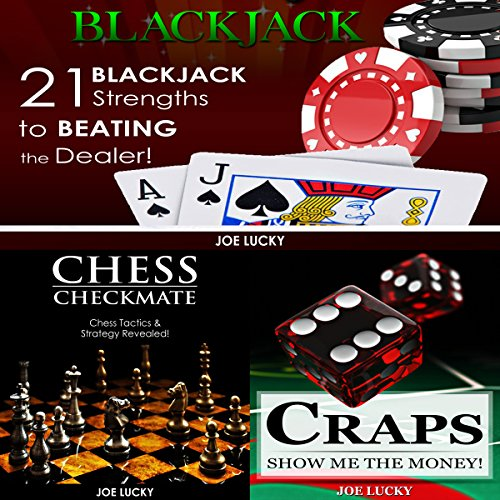Blackjack & Chess Checkmate & Craps  By  cover art