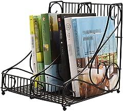 JUAN Magazine rack newspaper rack simple metal data storage magazine rack bedroom study magazine storage shelf living room...