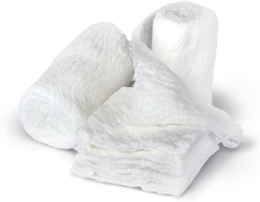 Bulkee Ii Gauze Bandages, Sterile, 100 Rolls/Carton