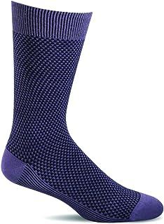 Sockwell Men's Ziggy Casual Crew Socks (Plum, M/L)