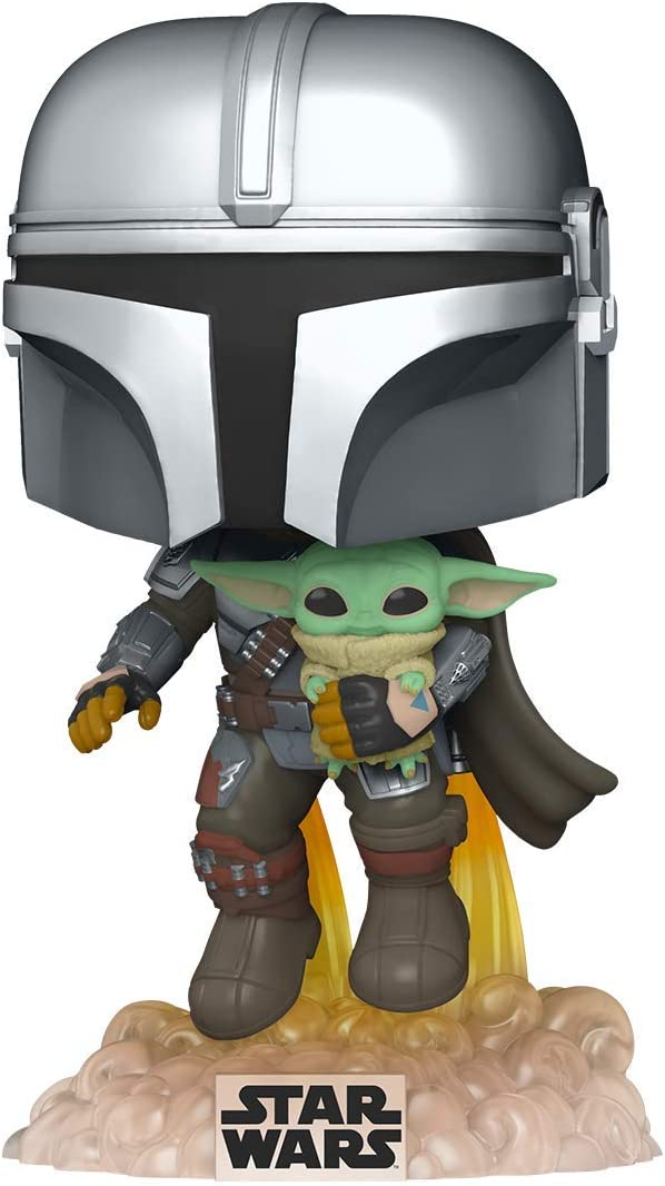 Funko Pop! Star Wars: The Mandalorian - Flying with Gray
