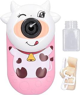 Bubble Machine for Kids - Cow Type Bubble Blower Leakage Proof Bath Bubble Maker Soap Machine Bubble Blowing Products Part...