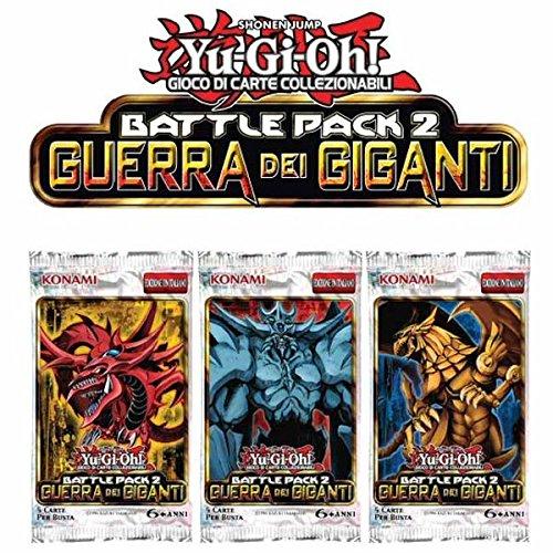 Konami- Yu-Gi-Oh Battle Pack Guerra Gigan.Busta Booster Carte, TCG112