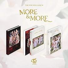 Miniálbum Twice 9th More & More [A ver] álbum de CD + álbum de fotos + pôster oficial dobrado + máscara de ídolo KPOP + ca...