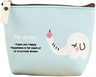 Elenxs Small Bag Ladies Wallet Mini Women Bag Unisex Clutch Cartoon Cute Girl Coin Purse
