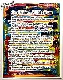 On Children 11x14 Kahlil Gibran poster - Heartful Art by Raphaella Vaisseau