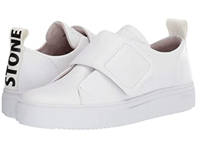 Blackstone Low Sneakers Strap RL61 (White) Women
