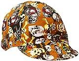Comeaux Caps 118-1000-7 Deep Round Crown Caps, 7', Assorted Prints