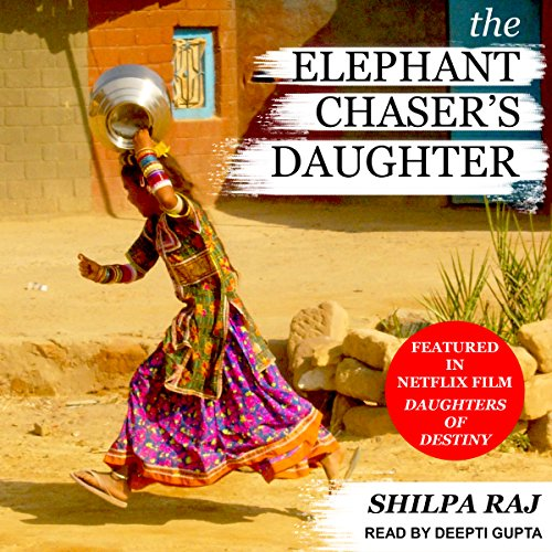 The Elephant Chaser's Daughter audiobook cover art