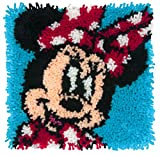 Dimensions Disney Minnie Mouse Latch Hook Craft Kit for Kids, 12'' x 12''
