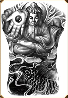 Pegatinas para tatuajes en la espalda completa Pegatinas para ...