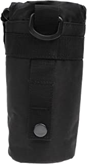 MagiDeal MOLLE Water Bottle Pouch, Drawstring Open Top Travel Water Bottle Bag Hydration Carrier Drink Holder
