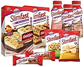 SlimFast Starter Kit Fast Weight Loss Diet Kit Planner Dietary Shakes Bars Snacks Day Planner Estimated Price : £ 29,98