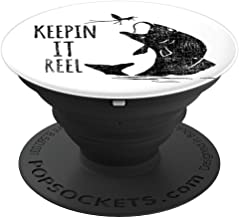 Keepin it Reel Fishing - PopSockets Grip and Stand for Phones and Tablets