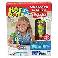 Educational Insights Hot Dots Jr. Succeeding in School with Highlights Set 【Creative Arts】 [並行輸入品]