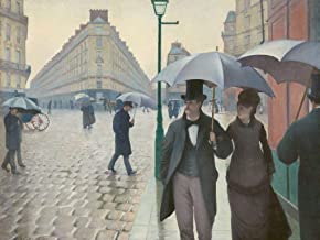 Wooden Jigsaw Puzzle - Paris Street, Rainy Day, by Gustave Caillebotte - 300 Pieces. Made in USA by Nautilus Puzzles