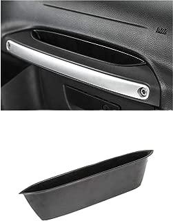 Salusy Passenger Storage Tray Organizer Grab Handle Storage Box Compitable with 2011-2018 Jeep Wrangler JK JKU