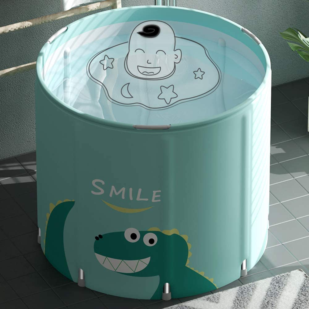 Baignoire De Corps Complet De Baril De Bain pour ladulte//Enfants en Plastique Bassin De Douche Blue LHn-Cn Baignoire Gonflables Adulte Pliable