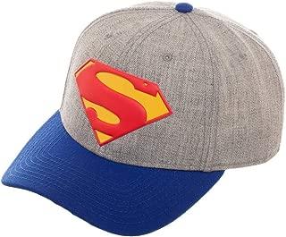 DC Comics Superman Pre-curved Snapback Hat