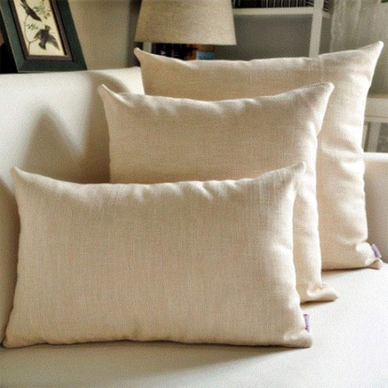 Luxury Retro Peony Backrest Pillow Cushion Cover Bed Pillow Cushion Set with Pillow Core,Beige,30  50cm