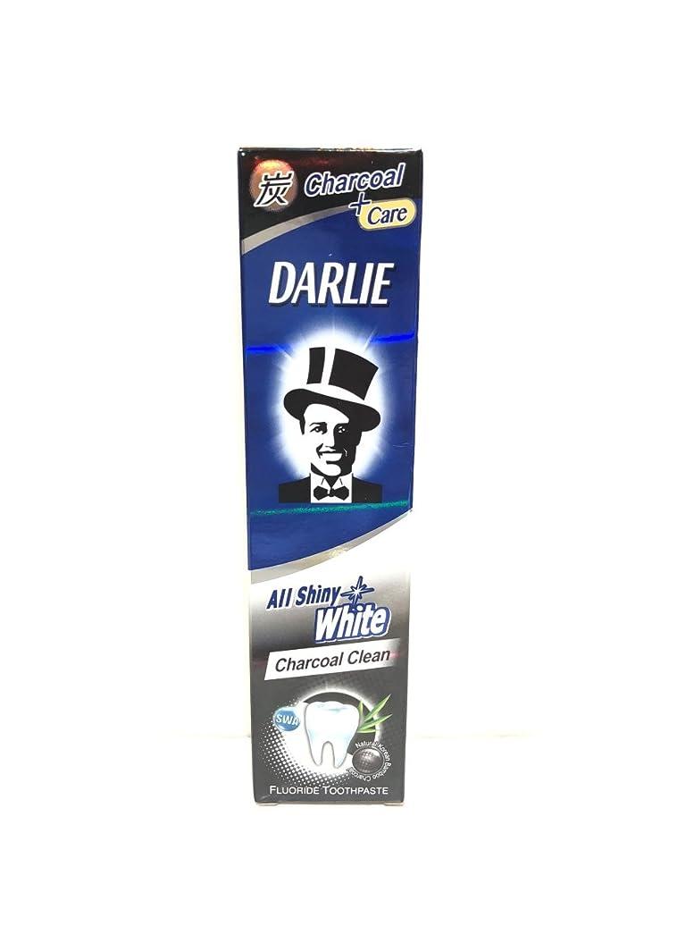 キャップ珍味転倒[ARTASY WORKSHOP?][並行輸入品] DARLIE 歯磨き粉 美白 All Shiny White 美白歯磨剤 虫歯予防 歯周病ケア 口臭改善 ホワイトニング チャコールクリーン [医薬部外品] (Charcoal Clean(チャコールクリーン))