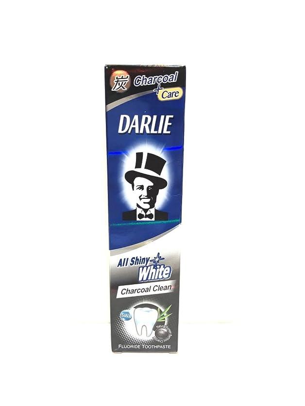 慢性的低下正確な[ARTASY WORKSHOP?][並行輸入品] DARLIE 歯磨き粉 美白 All Shiny White 美白歯磨剤 虫歯予防 歯周病ケア 口臭改善 ホワイトニング チャコールクリーン [医薬部外品] (Charcoal Clean(チャコールクリーン))