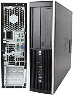 HP Compaq 8000 Elite USDT Destkop C2D 4GBRAM 500GB HDD Win10 WiFi AC Adapter (Renewed)