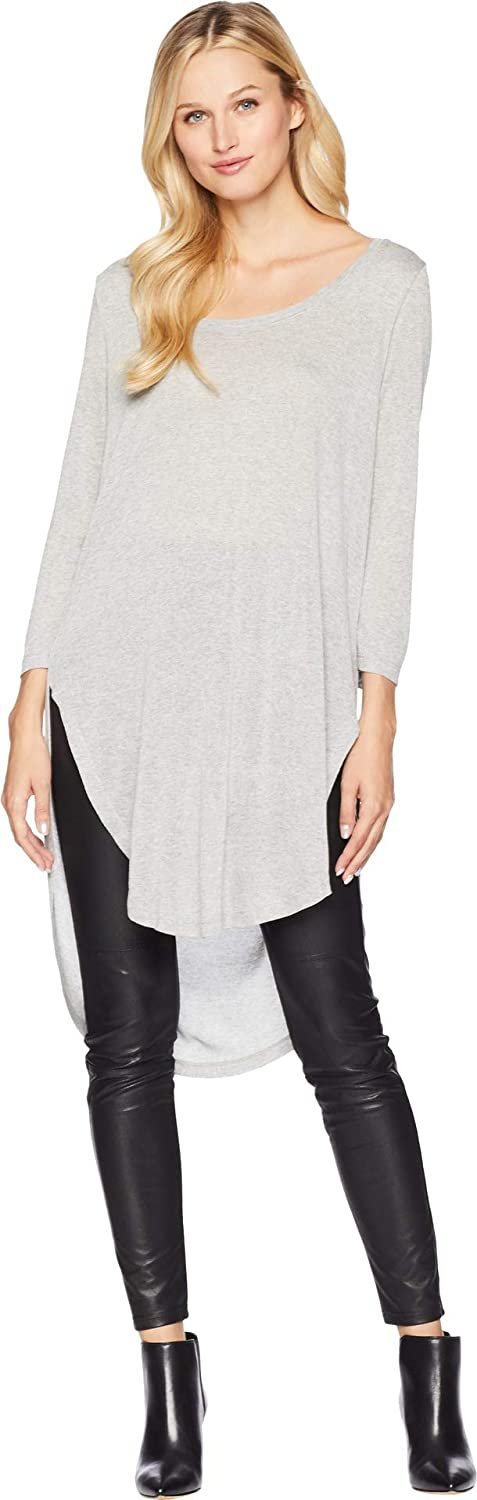Tribal Women's Lux 3 4 Sleeve Knot Or Unknot Top