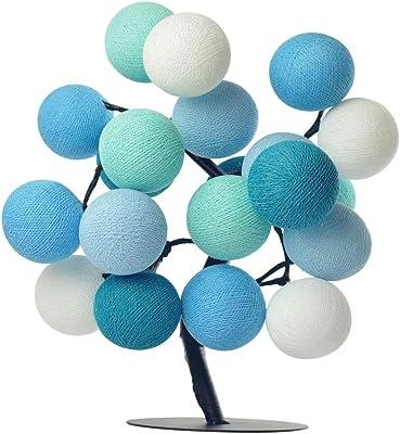 Árvore de Luz Led 20 Bolas Santiago Cormilu Azul