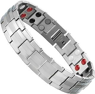 12c2c1cc5ad7 Amazon.es: pulseras magneticas hombre