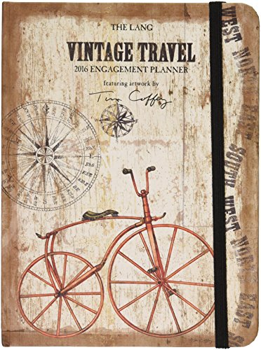 Lang Vintage Travel Classic Engagement Planner by Tim Coffey, January 2016 to December 2016 (1017018)