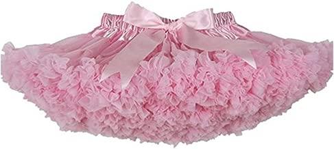 wexcen Baby Girl's Tutu Skirt Princess Ballet Dance Pettiskirt Fluffy Tulle Pleated Dress 1-10T