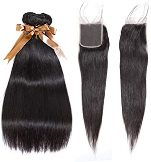 Best brazilian straight hair closure Reviews