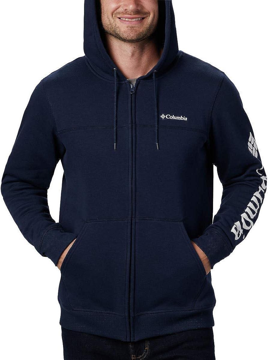 Columbia Mens M Columbia Logo Fleece FZ