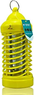 FOKN Libre De Radiación Lámpara Anti-Mosquito Electrónica Photocatalyst Mute Luces De Repelente De Insectos A (* 20.8cm 9) Paquete 2 De,Yellow
