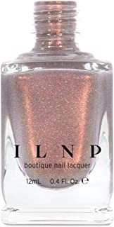 ILNP Quicksand - Refined Warm Taupe Holographic Nail Polish